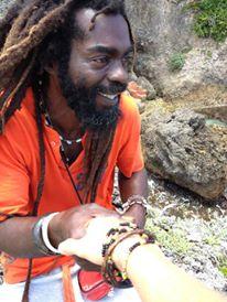 Rappa, local tour guide, Boston Bay, Jamaica, Beach, Surfing